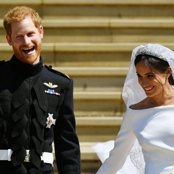 Auf der Hochzeit von Harry und Meghan wurde viel gelacht