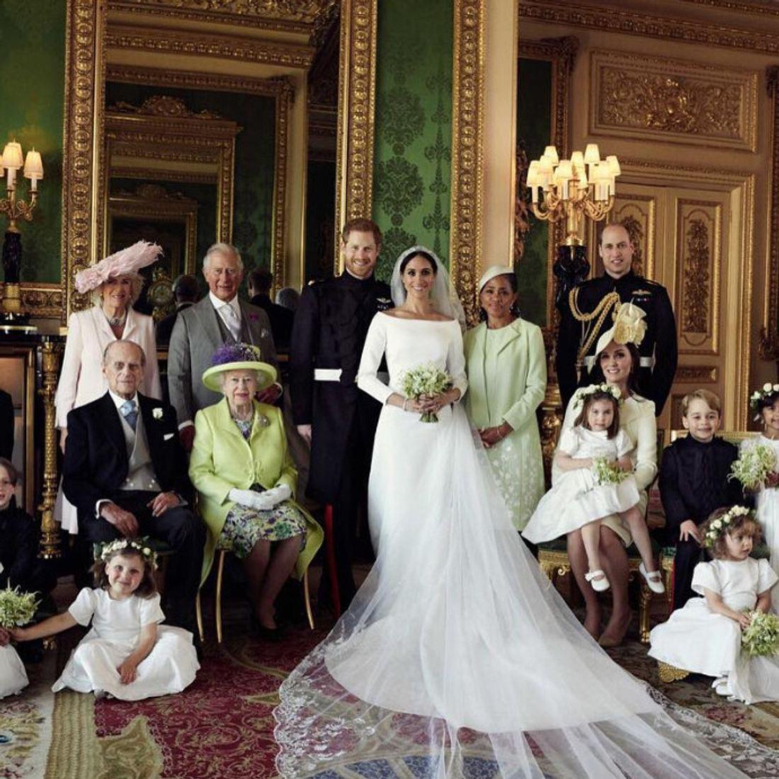 Das sind die offiziellen Hochzeitsfotos von Prinz Harry & Meghan Markle
