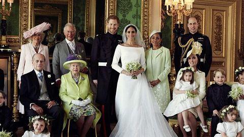 Offizielle Hochzeitsfotos veröffentlicht