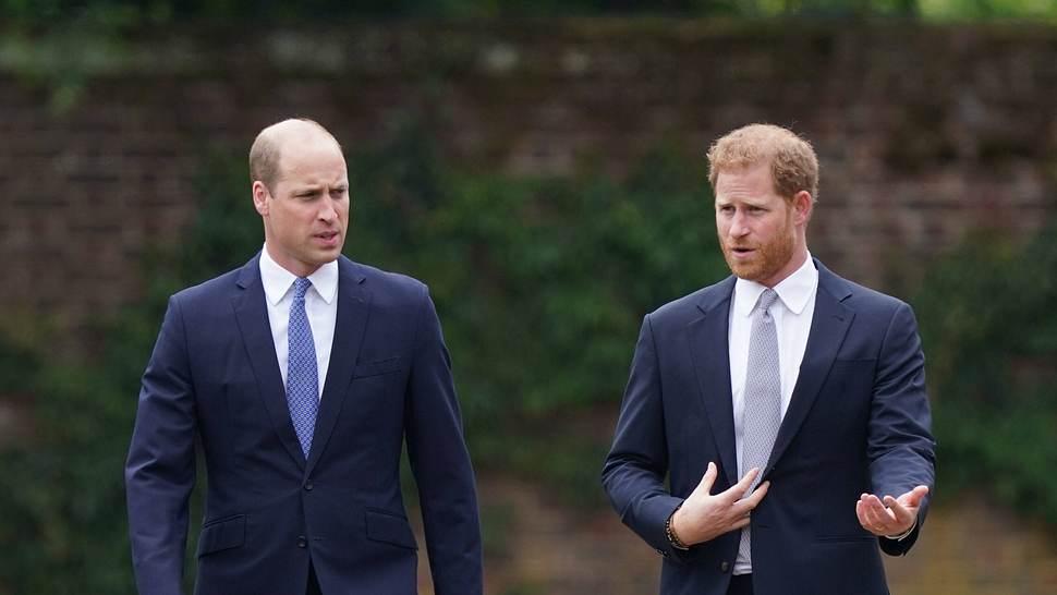 Prinz Harry Prinz William - Foto: imago