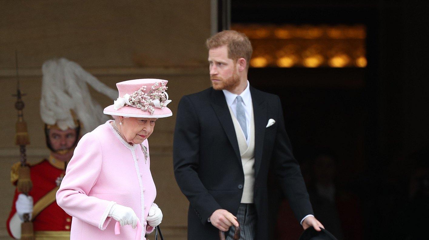 Harry und die Queen