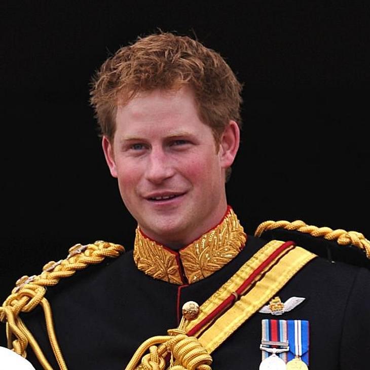 Trendstyle: Rote Haare Prinz Harry (englisches Königshaus)
