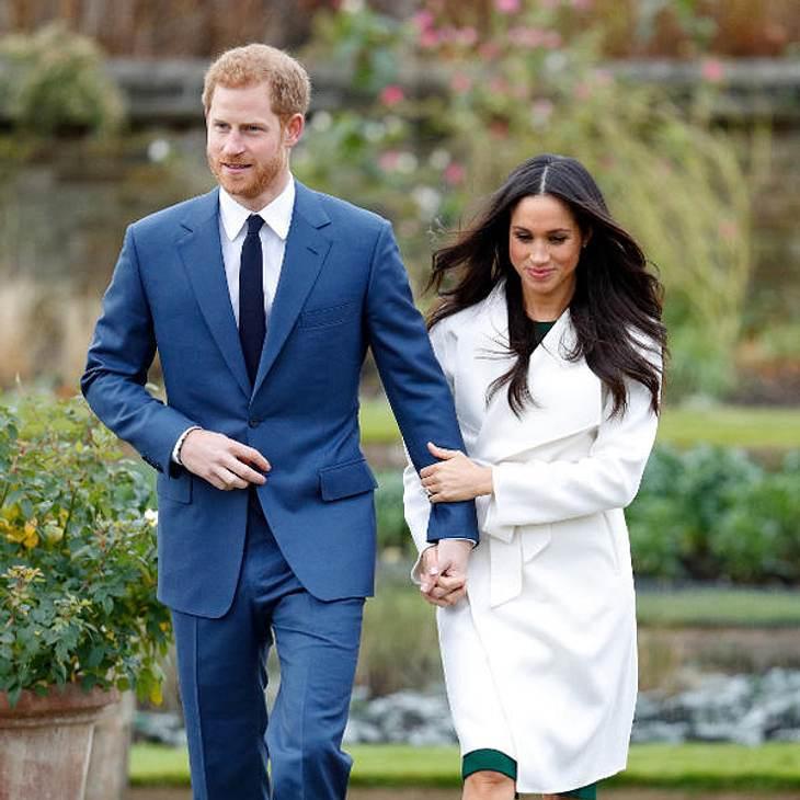 Prinz Harry sorgt sich um die Sicherheit von Meghan Markle