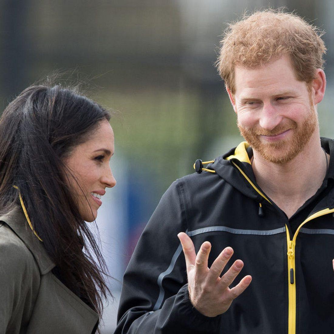 Prinz Harry ist im Baby-Fieber