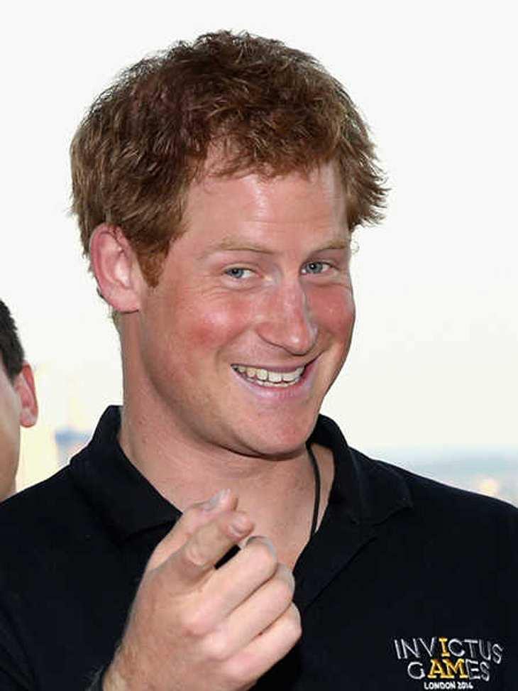 Prinz Harry freut sich über Kates zweite Schwangerschaft.