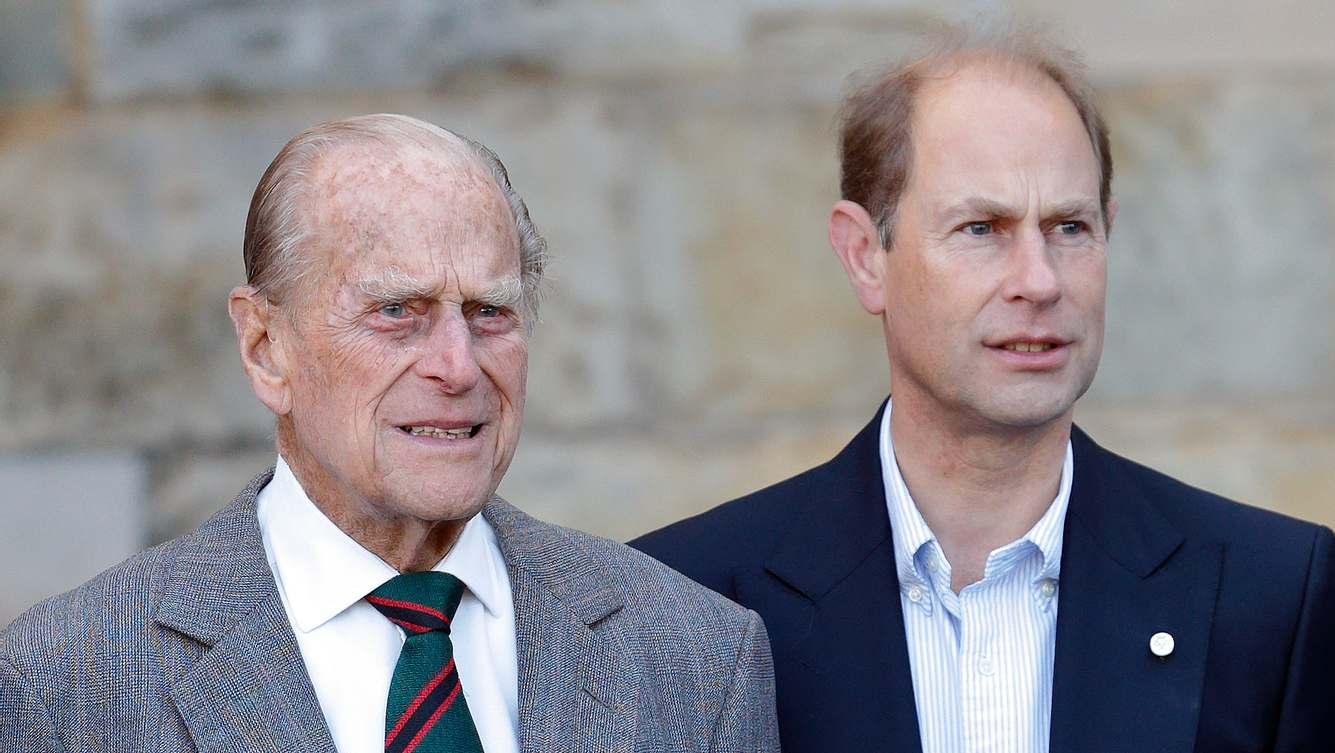 Prinz Philip und Prinz Edward