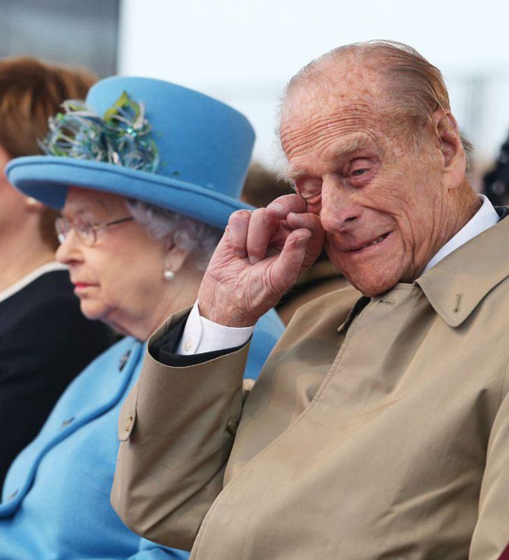 Prinz Philip: Traurige Neuigkeiten! Trennung von der Queen