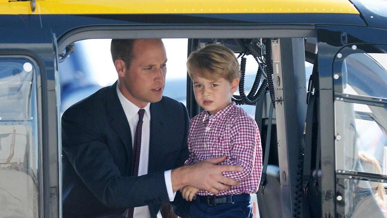 Prinz William und Prinz George
