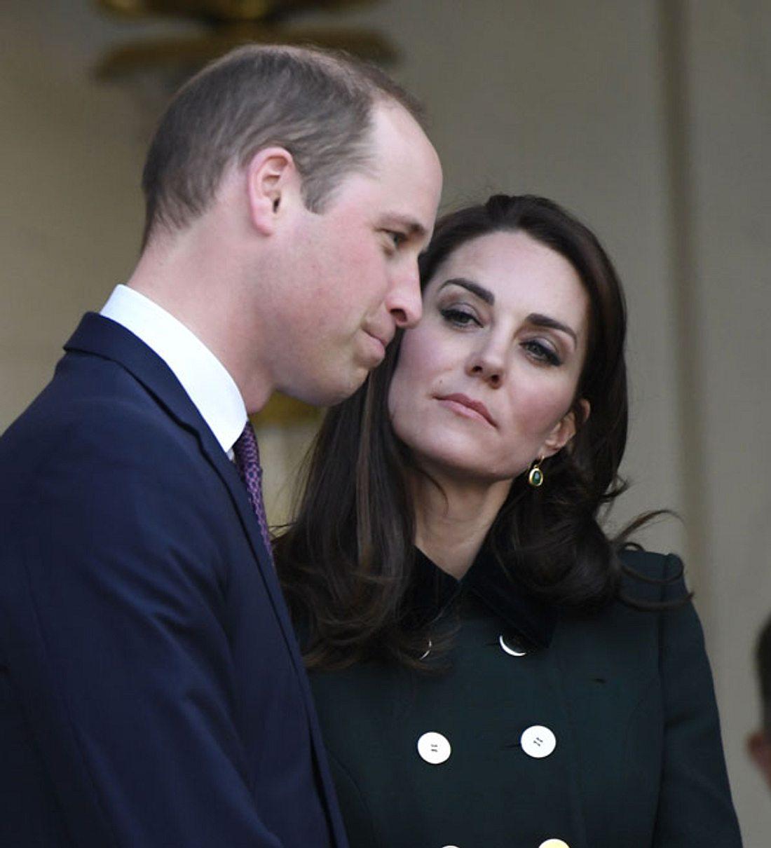 Prinz William und Herzogin Kate: Er hatte Zweifel an der Vaterschaft