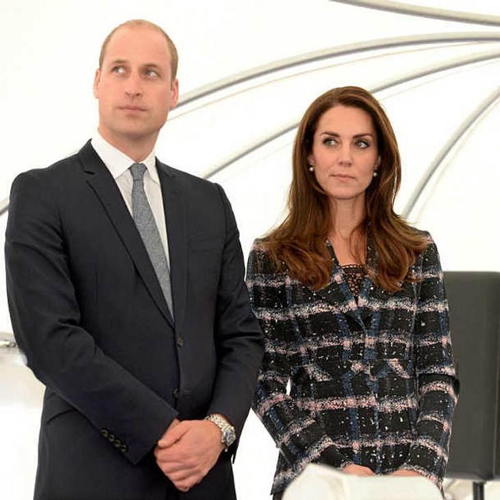 Endlich öffentlich: Kate Middleton und Prinz William halten Händchen!