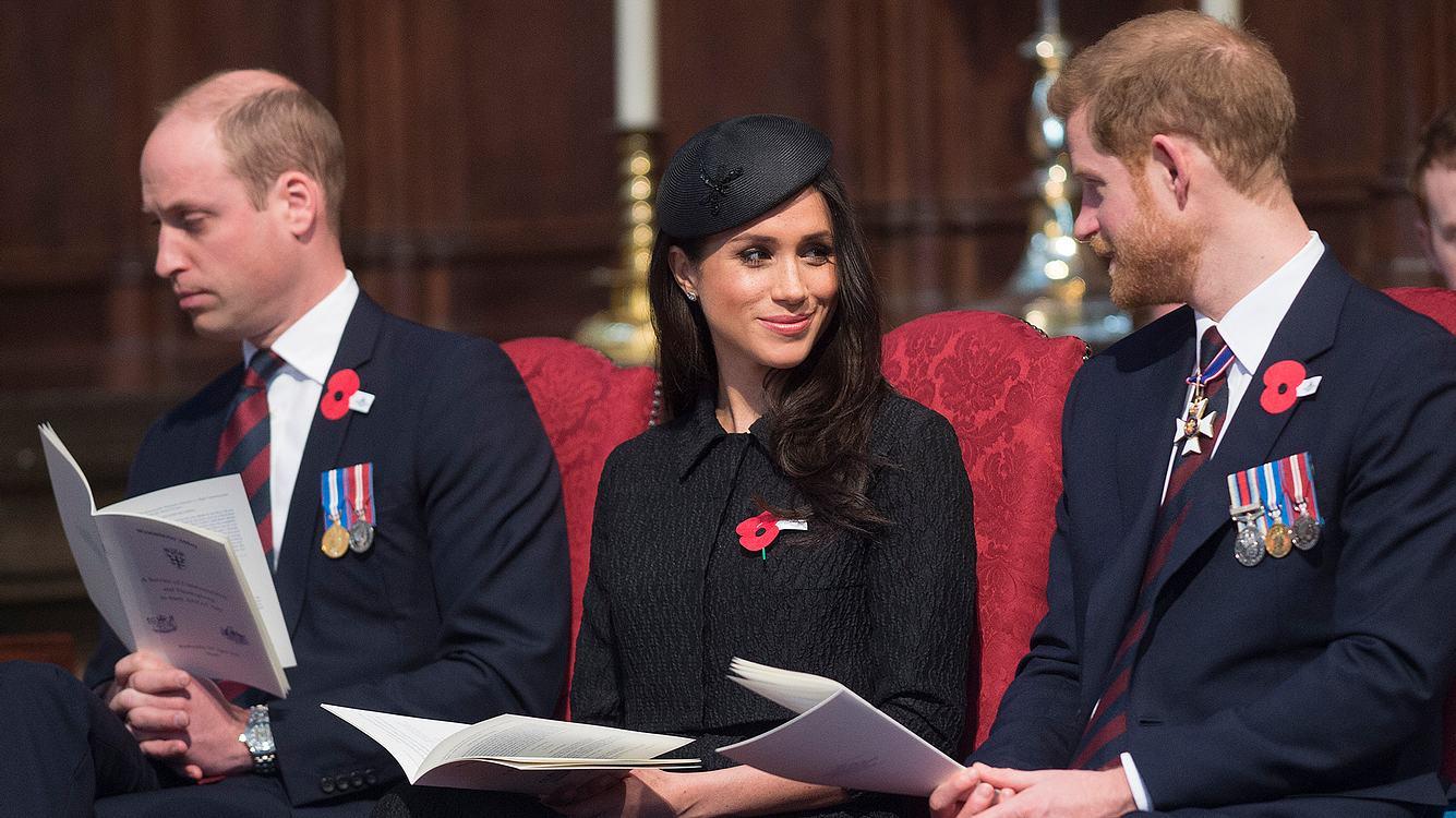 Prinz William und Herzogin Meghan