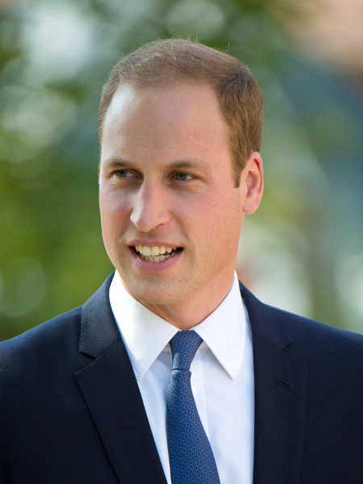 Prinz William zeigte sich nach den Baby-News.