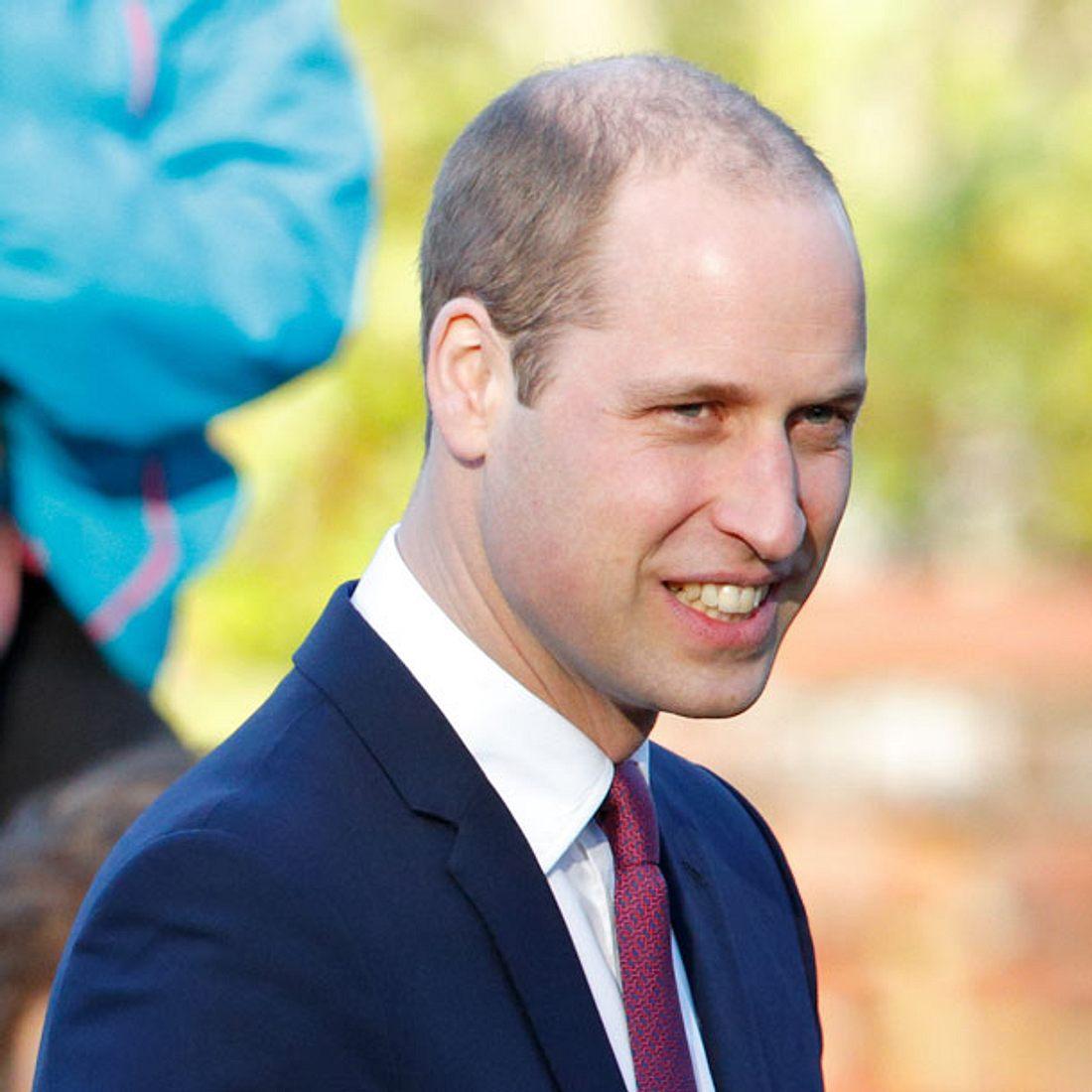 Prinz William zeigt seinen Kurzhaarschnitt