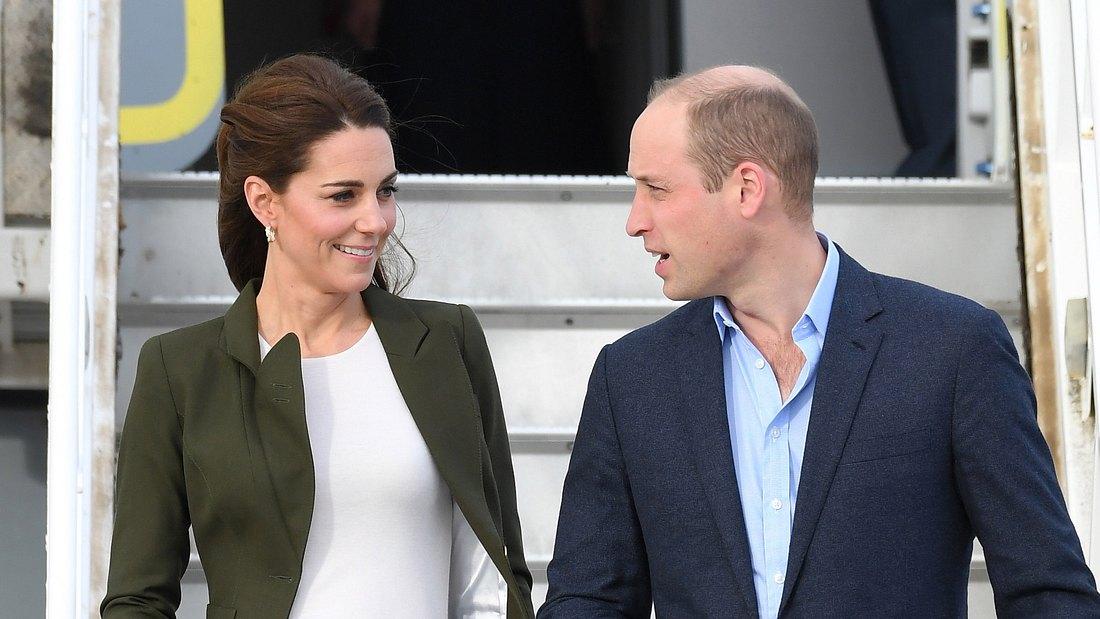 Zu Hause zeigt Prinz William sein wahres Gesicht