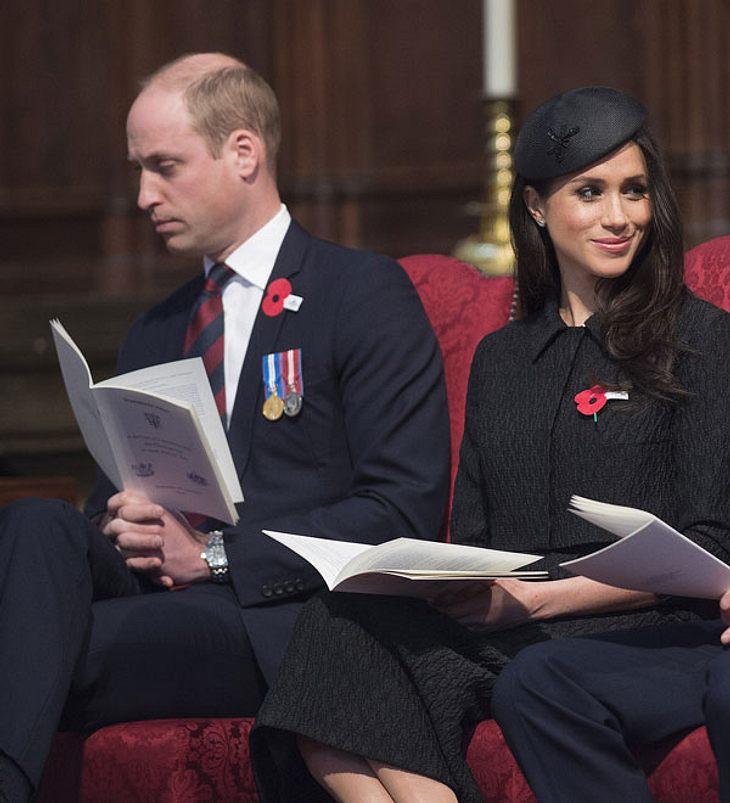 Prinz William sichtlich erschöpft