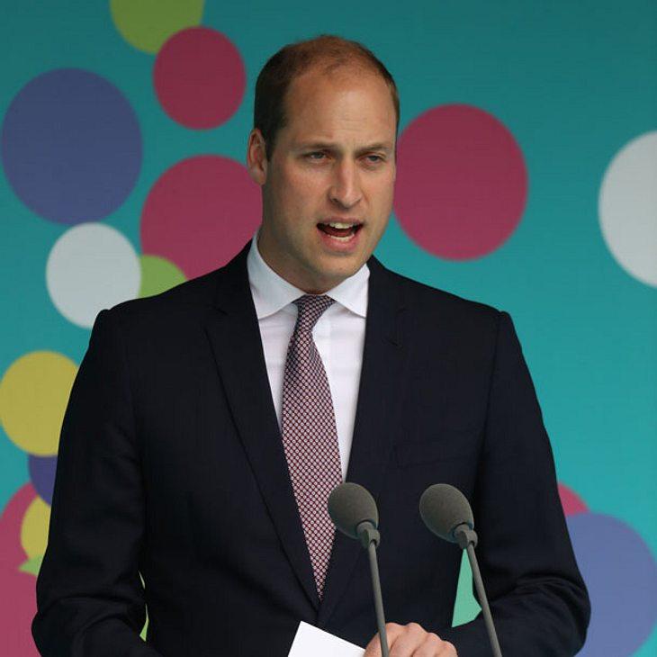 Prinz William ehrt Prinzessin Diana