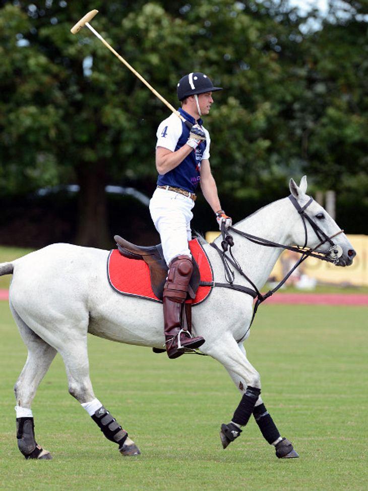 Herzogin Kate könnte jeden Moment Wehen bekommen und Prinz William spielt Polo.
