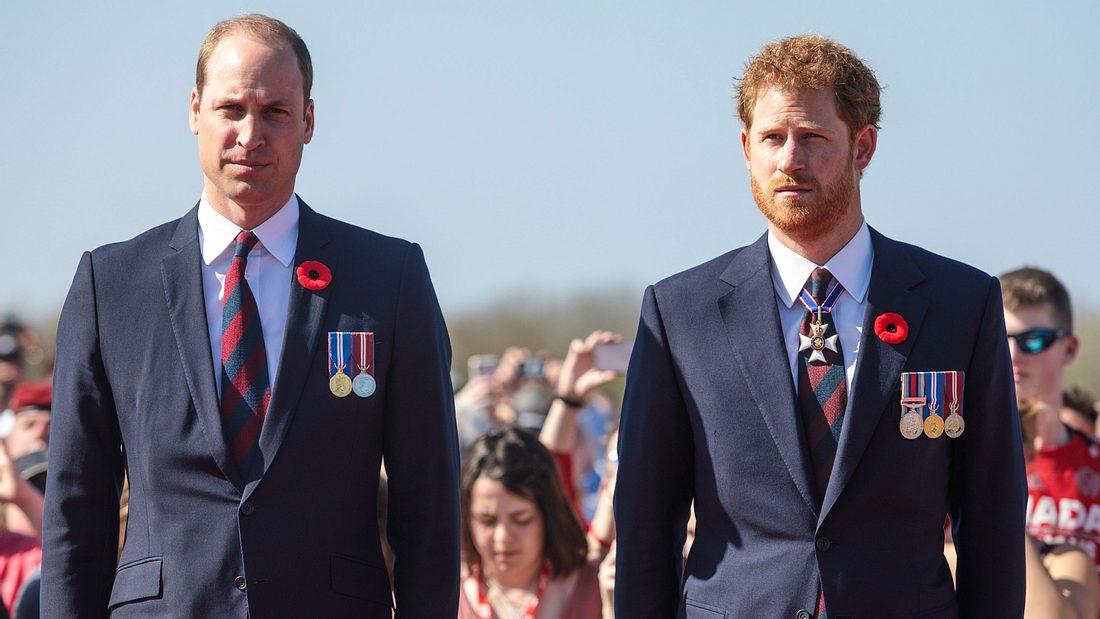 Prinz William & Prinz Harry