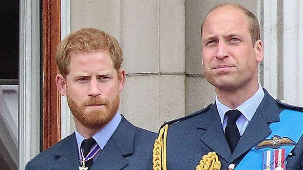 Prinz William und Prinz Harry - Foto: Imago