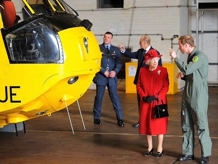 Prinz William bekommt einen Helikopter zum Geburtstag