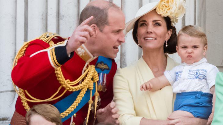 Prinz Louis: So süß trägt er das alte Outfit von Onkel Harry