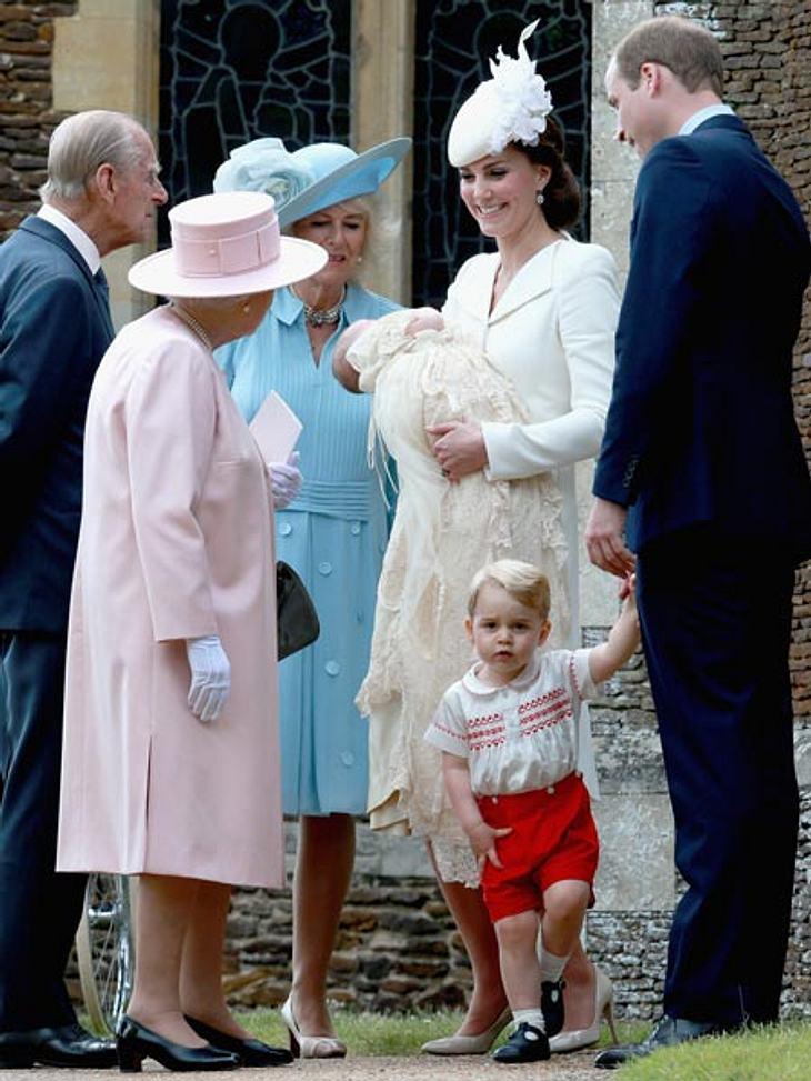 Prinzessin Charlotte wurde am Sonntag getauft