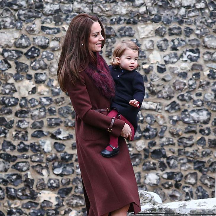 Prinzessin Charlotte ist mittlerweile richtig groß geworden!