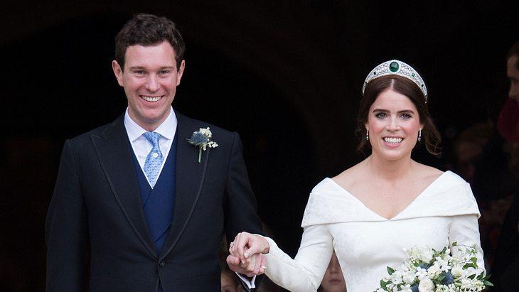 Zum ersten Hochzeitstag: Prinzessin Eugenie teilt Video von ihrer Royal Wedding