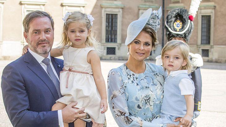 Prinzessin Madeleine holt sich Erziehungs-Hilfe