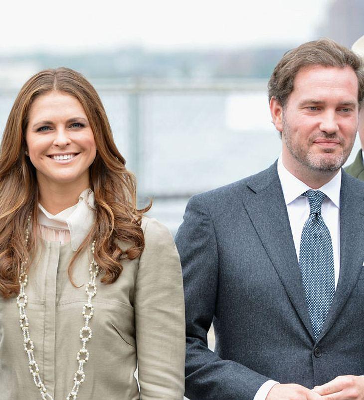 Prinzessin Madeleine und Chris O'Neill: So soll ihr Baby heißen!
