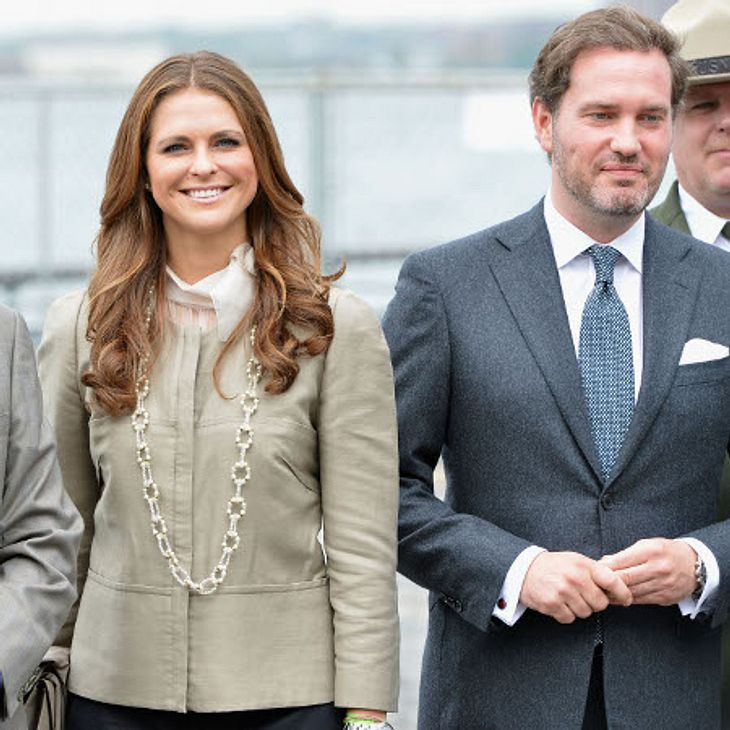 Ein Traumpaar, das bald Traumhochzeit feiern wird: Chris O'Neil und Prinzessin Madeleine von Schweden.