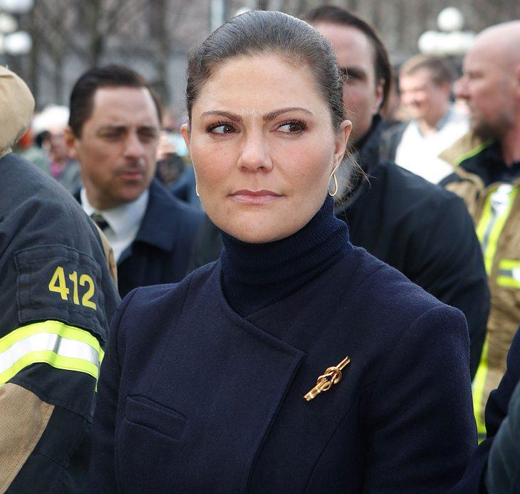 Prinzessin Victoria von Schweden: Tränen in der Öffentlichkeit