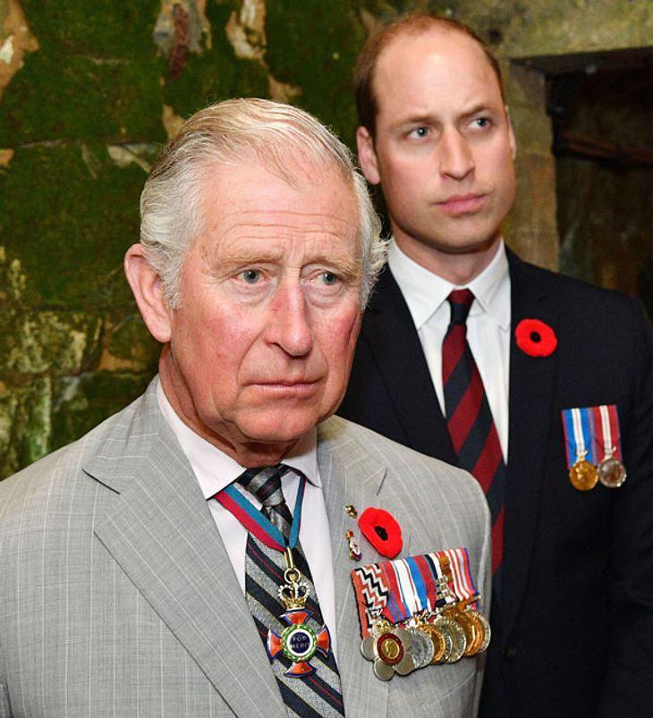 Prinz William: Schlimmer Streit mit Charles!