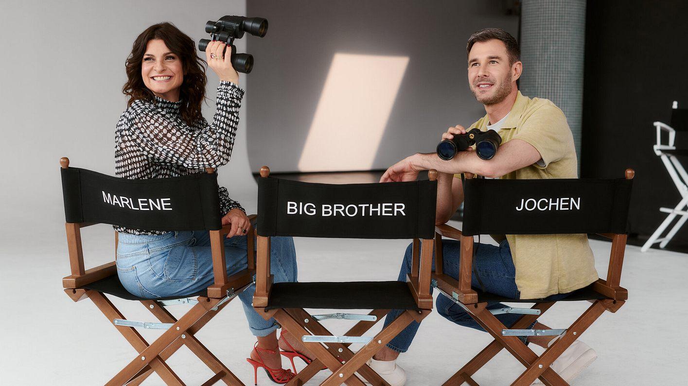 Promi Big Brother-Moderatoren Marlene Lufen und Jochen Schropp
