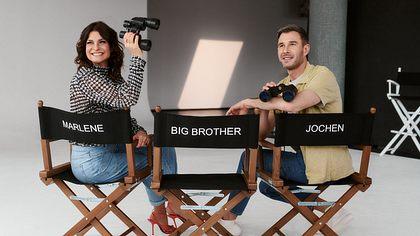 Promi Big Brother-Moderatoren Marlene Lufen und Jochen Schropp - Foto: SAT.1/Christoph Köstlin