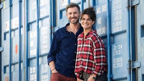 Promi Big Brother-Moderatoren Jochen Schropp und Marlene Lufen - Foto: Imago