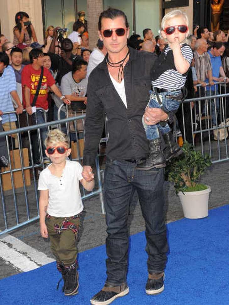 Die stylishen Promi-KinderEin Beispiel dafür, dass Coolness abfärbt, ist Familie Stefani-Rossdale. Papa Gavin Rossdale (46) und seine Stylo-Söhne Kingston (5) und Zuma (3) ist das wohl stylishste Vater-Kind-Gespann der roten Teppiche.