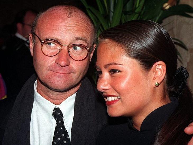 Die teuersten Promi-Scheidungen: Platz 10,Auf Platz 10 hat es die Scheidung von Phil Collins geschafft. Als der Musiker sich von seiner schweizer Frau Orianne Cevey trennte, musste er ihr 25 Millionen Pfund zahlen, umgerechnet 46,7 Millione