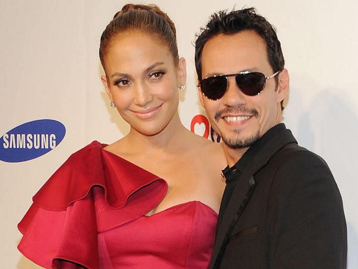 Die teuersten Promi-Scheidungen: Platzierung?,Bei ihnen wird noch verhandelt, wieviel der Ex-Partner kriegt. Doch Marc Anthony könnte der zweite Mann in unserer Liste werden, der Geld von seiner Frau bekommt.Jennifer Lopez verdiente in den