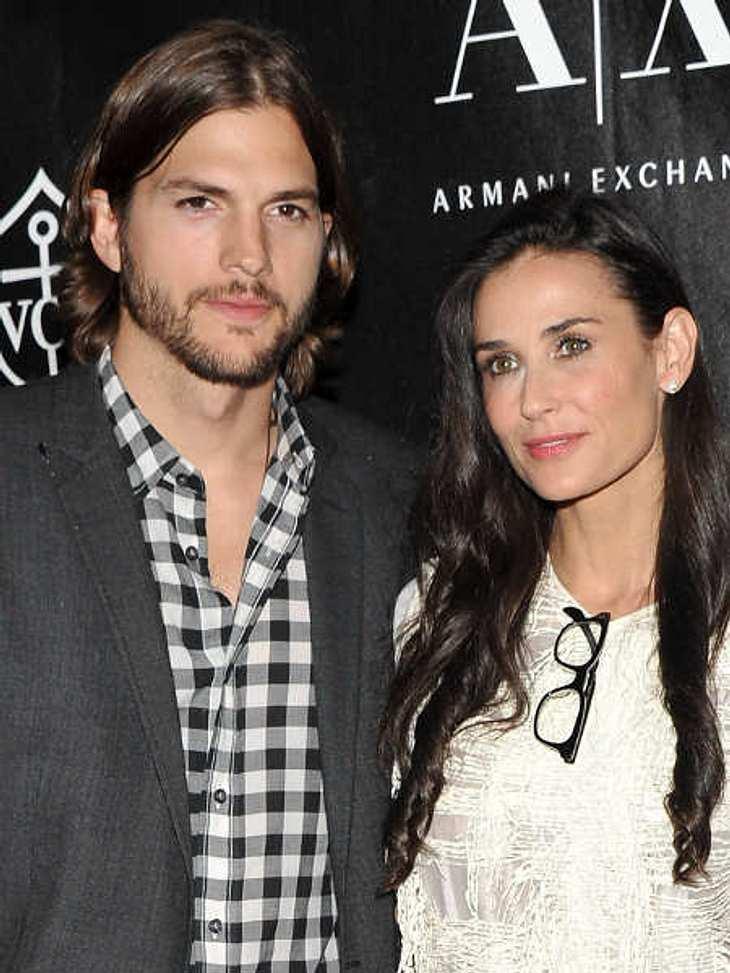 Die teuersten Promi-Scheidungen: Platzierung?,Ashton Kutcher und Demi Moore haben, als sie 2005 geheiratet haben, einen Ehevertrag ausgehandelt. Damals war Ashton Kutcher noch relativ unbekannt und unvermögend und Demi Moore wollte sicher g