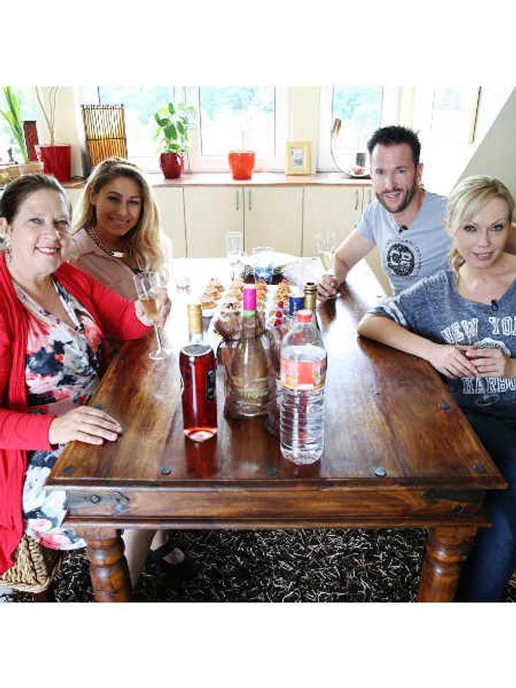 """Promi Shopping Queen"" mit Kathy Kelly, Kelly Trump, Linda Teodosiu und Michael Wendler."