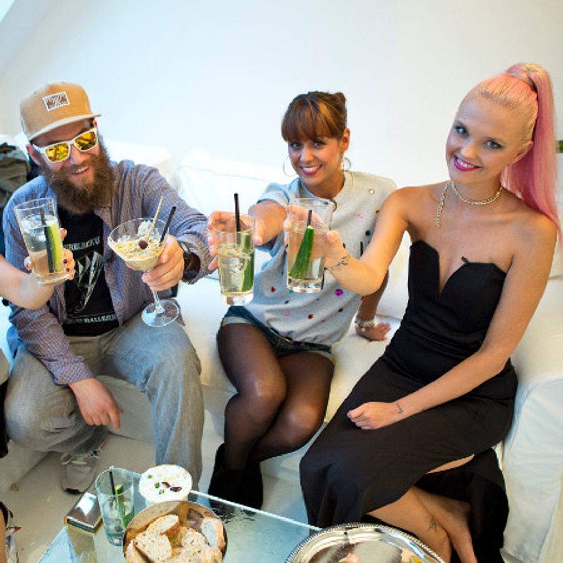 Promi Dinner-Doppelsieg für MC Fitti und Bonnie Strange