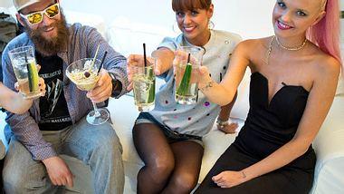 Promi Dinner-Doppelsieg für MC Fitti und Bonnie Strange  - Foto: VOX/Andreas Friese
