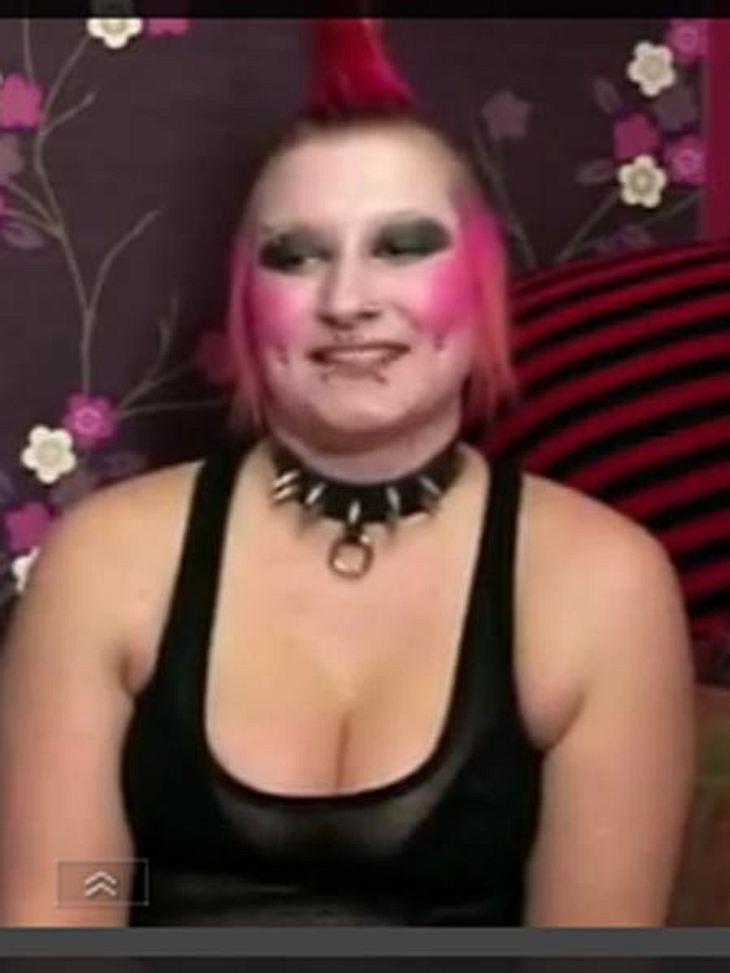 So sieht Mel als Punk aus