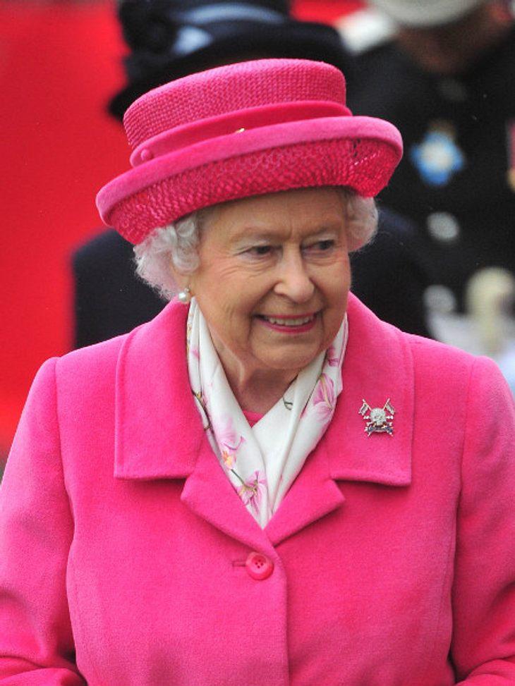 So feierte die Queen die Geburt des Mädchens.
