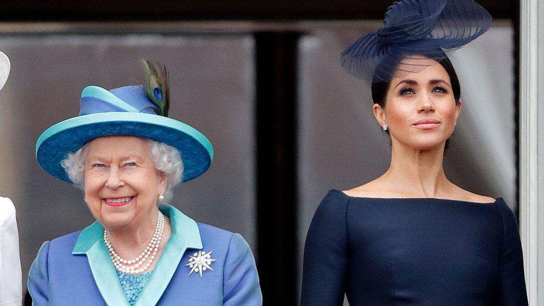 Queen Elizabeth Herzogin Meghan