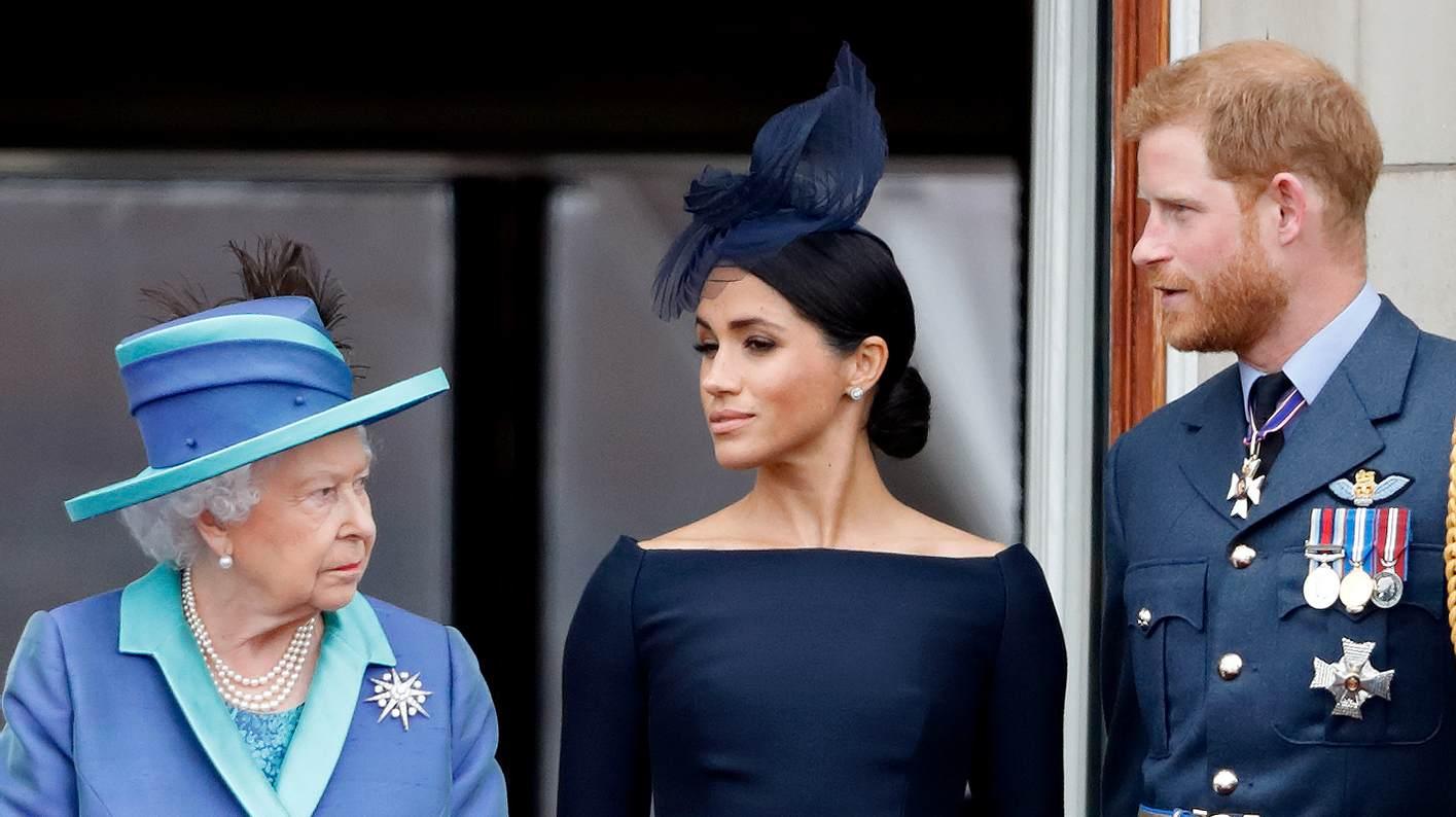 Meghan, Harry und die Queen