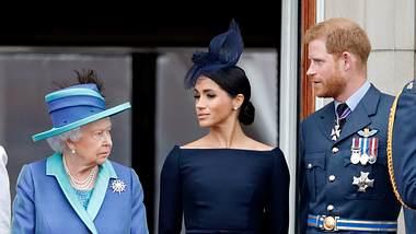 Meghan, Harry und die Queen - Foto: Getty Images