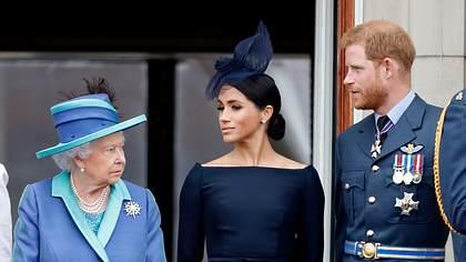 Queen, Meghan und Harry - Foto: Getty Images