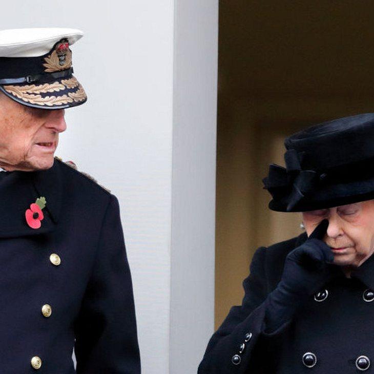 Queen Elizabeth sorgt sich um Philip